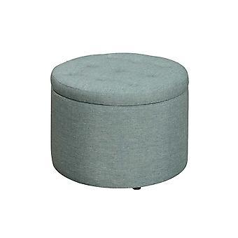 Designs4Comfort Round Shoe Ottoman - R9-189