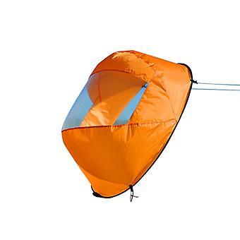 Oranssi taitettava kajakki myötätuulessa -sarja