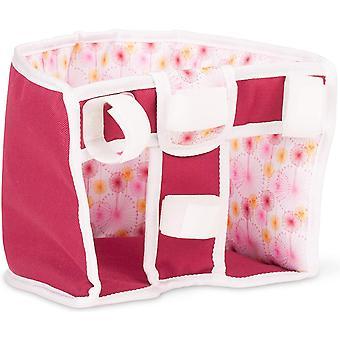Wokex 3402862 Happy Flowers Roller- und Fahrradsitz - Puppenzubehr fr alle Puppen von 27 cm bis 50
