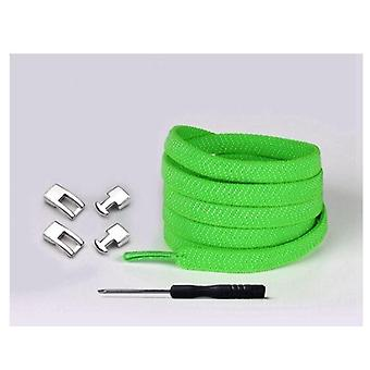Quick Elastic Shoelaces Flat No Tie Cross Buckle Lock