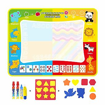 Magic doodle mat educational kids water drawing toys gift kt-4