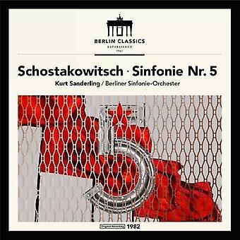 Shostakovich / Sanderling, Kurt / Berliner Sinfonie-Orchester - Shostakovich: Symphony 5 [Vinyl] USA import