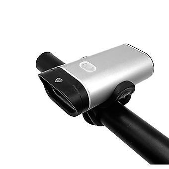 Rower górski wodoodporny mocna lampa świetlna, USB akumulator ze stopu aluminium rower przednia lampa