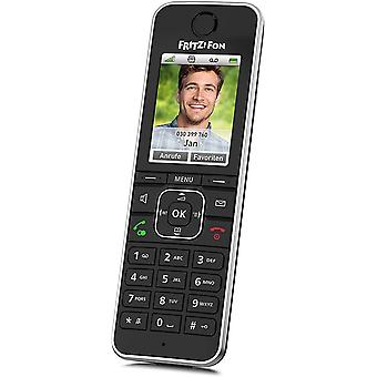 FengChun Fritz! Fon C6 Black DECT-Komforttelefon (hochwertiges Farbdisplay, HD-Telefonie,