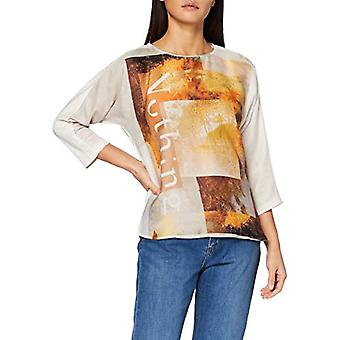 Taifun T-Shirt 1/1 Arm, Winter White Pattern, 46 Woman