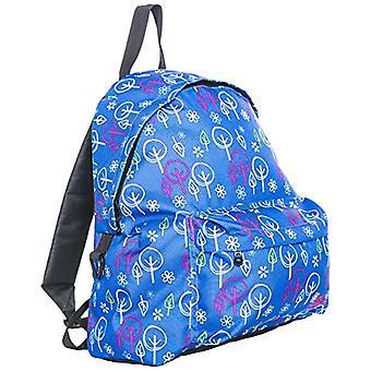Trespass Tresspass UCACBAD10001-S Britt Children's Backpack-Multicolored, Multicoloured-Baummuster, One Size