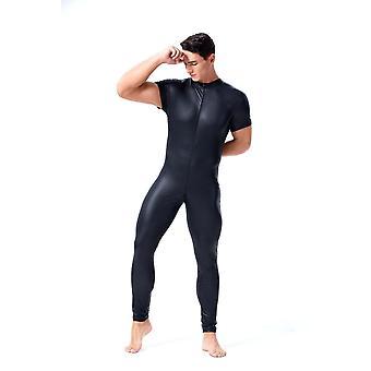 Men Lingerie Bodysuit Gay Hot Lingerie Latex Catsuit Fetish Wear Sexy