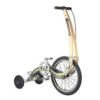 Taita kumipyörät ulkopyörällä, nouse ylös ajamalla pyörä fitness kolmipyörä