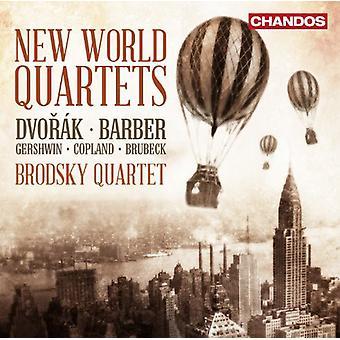 Dvorak/Copland/Barber/Gershwin/Brubeck - New World Quartets [CD] USA import