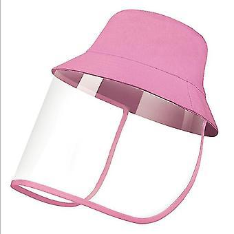 28Cm * 25 سم * 1 سم الوردي قبعة الشمس في الهواء الطلق للرجال والنساء x5096