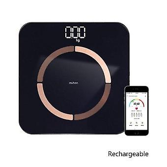 Gerui USB Charging Weight Scale Smart(Black)