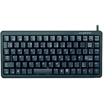 Cherry G84-4100 Συμπαγές πληκτρολόγιο USB/PS2 (μαύρο)