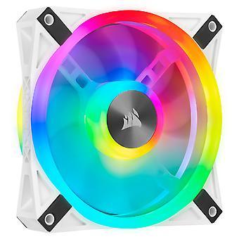 Corsair iCUE QL140 White with Addressable RGB PWM Fan Dual Pack -140mm
