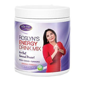 Life-Flo  Roslyn Organic Energy Drink Mix, 6.4oz