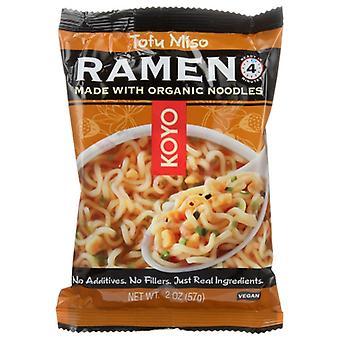 Koyo Soup Ramen Tofu & Miso, Case of 12 X 2 Oz