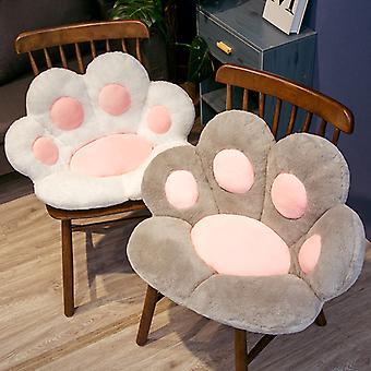 Кресло Seat Cat Paw Подушка для офиса Диннинг Председатель Стол Спинка Подушка Офис Места Массаж Cat Paw Подушка Мультфильмы