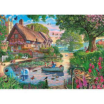 Gibsons Golden Hour Jigsaw Puzzle (1000 Pieces)
