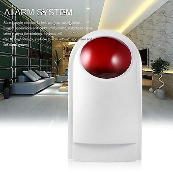 Wired Home Security Sound Light Strobe Siren Safety & Fire Alarm System Cw32
