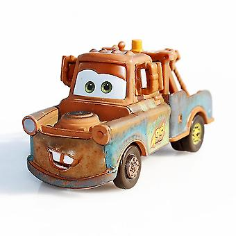 Autos Tow Mater Racing Driver Alloy Auto Modell Kinder's Cartoon Spielzeug