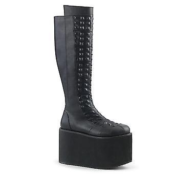 Demonia Women's Boots ROT-13 Blk Faux Cuir