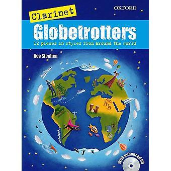 Klarinett Globetrotters Bok + CD