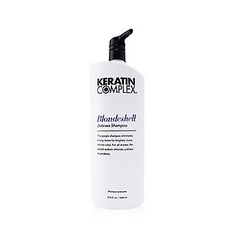 Keratin Complex Blondeshell Debrass Shampoo 1000ml/33.8oz