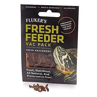 Flukers Mealworm Fresh Feeder Vac Pack - 0.7 oz