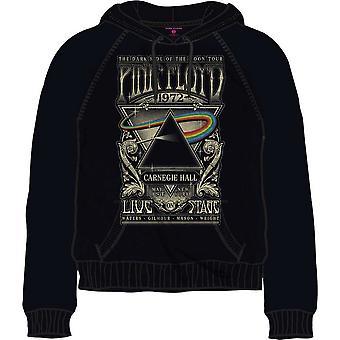 Pink Floyd - Carnegie Hall Poster Petit haut à capuche pour hommes - Noir