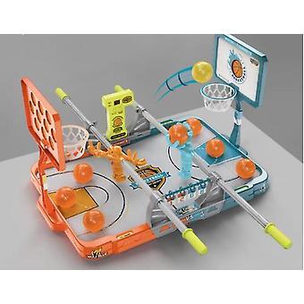 Kinder Desktop Basketball Spielzeug Eltern Kind Interaktive Doppelfingerspitze Schießen Spiel maschine