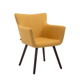 Esszimmerstuhl - Esszimmerstühle - Küchenstuhl - Esszimmerstuhl - Modern - Gelb - Holz - 64 cm x 56 cm x 86 cm