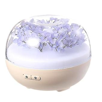 Powered hand fans misters humidifier 180ml essential oil diffuser for large room 24 hours with 7color changing lights