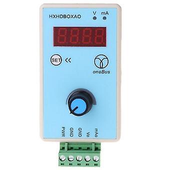 Handheld 0-10v/2-10v 0-20ma/4-20ma signaalgenerator instelbare stroomspanning analoge simulator