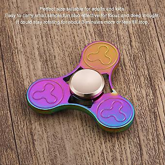 Kleurrijke Tri-spinner Hand Spinner Rotatie Tijd Lange Vinger Speelgoed Anti Stress