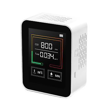 Intelligent Big Screen Co2 Tvoc Temperature Humidity Multipurpose Detect Tool
