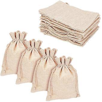 Bustine di canapa di lino da 100 pezzi