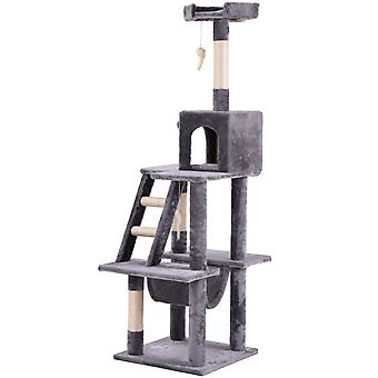 Cat Play Tower House s stíracími aktivitami