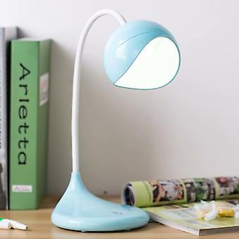 LED Wiederaufladbare Augenschutz Lernleselampe (blau)