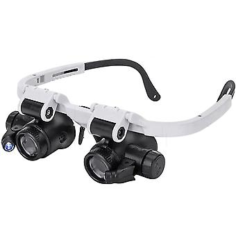 Magnifying Glasses Jewelry Loupe 8x 15x 23x Repair Miniature Magnifier