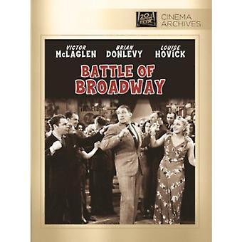 Slag van Broadway [DVD] USA import