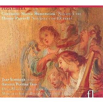 Bononcini/Purcell - Trio Sonatas/Trio Sonatas [CD] USA import