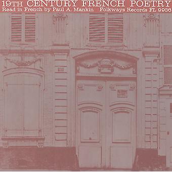 Paul a. Mankin - 19 Siglo francés poesía: leer en francés por importación de Estados Unidos Paul [CD]