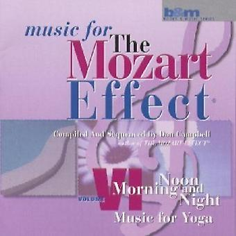 Don Campbell - The Mozart Effect: Music for Yoga (Morning, Noon and Night) [CD] USA import