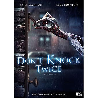 Don't Knock Twice [DVD] USA import
