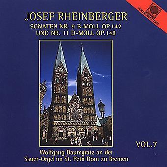 Josef Rheinberger - Rheinberger: Organ Music, Vol. 7 [CD] USA import