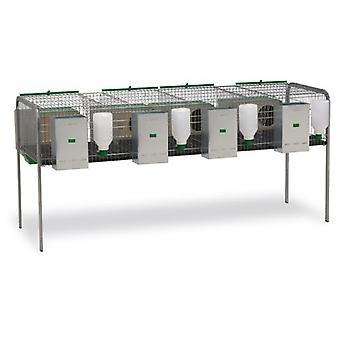 Gaun Rabbits cage model Silleda 4 Nests (Small pets , Cages and Parks)