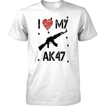 Ich liebe mein AK47 - Spieler inspirierte Arcade-Shooter - T-Shirt für Herren