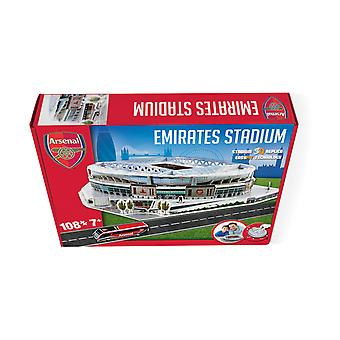 The Emirates Arsenal Stadium 3D Model Jigsaw Puzzle (108 Pieces)