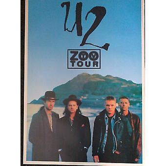 U2 Zoo Tour Poster