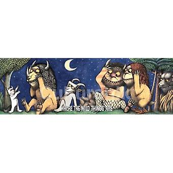 Where The Wild Things Are Max Be Still Poster Poster Print