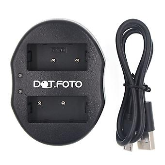 Dot.Foto Sony NP-FZ100 Dual USB Battery Charger